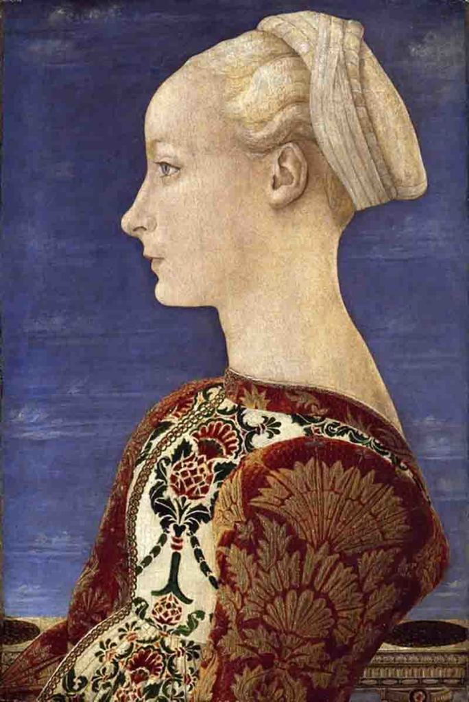 Antonio-del-Pollaiuolo-Ritratto-di-giovane-donna-1465-ca.-Museo-Nazionale-Berlino.