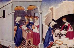 La-città-delle-Donne-miniatura-XV-secolo-Harley-MS-4431