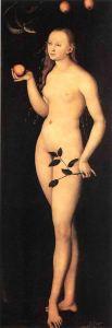 Lucas-Cranach-il-Vecchio-Eva-particolare-1528-Galleria-degli-Uffizi-Firenze