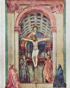 Masaccio-Trinità-1425-1427-Santa-Maria-Novella-Firenze.