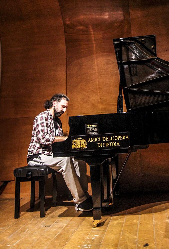 Stefano Bollani - foto di Felisia Toscano