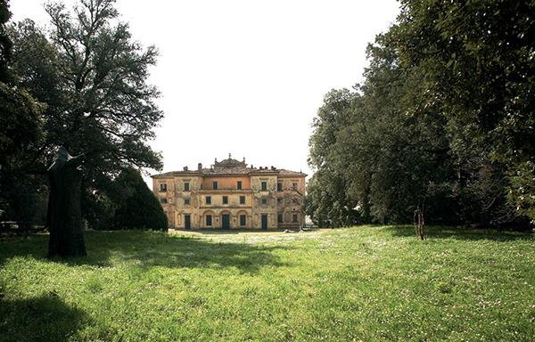 Veduta villa Fattoria di Celle