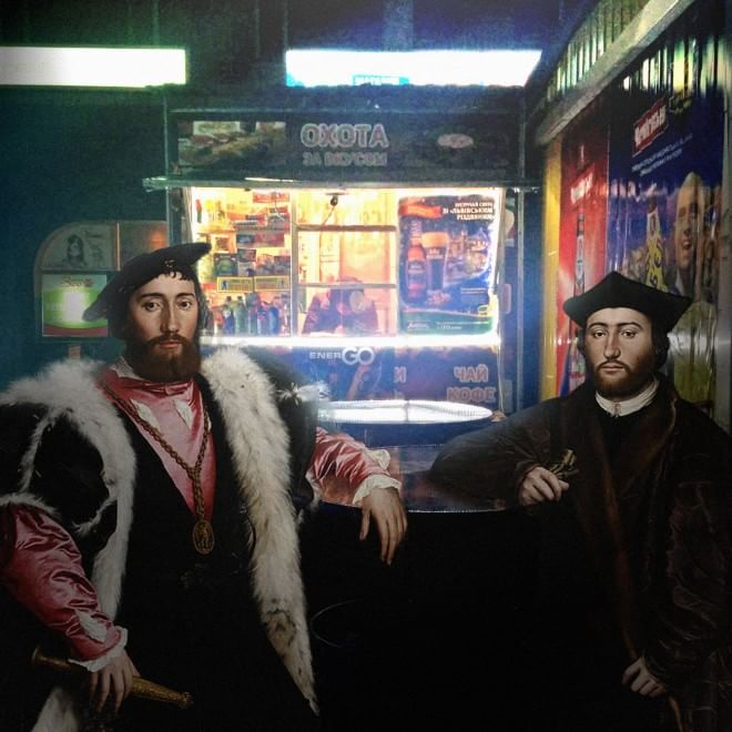 Hans Holbein Il Giovane - Ambasciatori