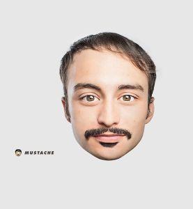 Mustache_Emojis