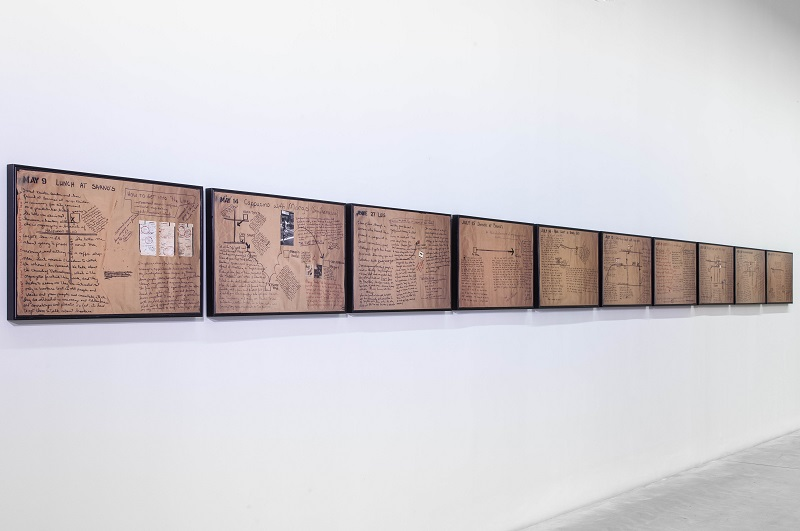 Suzanne Lacy, Prostitution Notes, 1974-2015