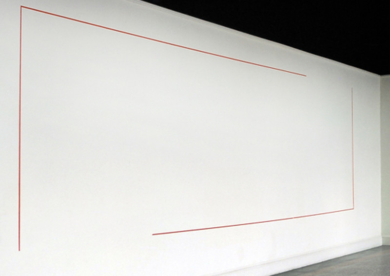 1974,acrilico su nastro di tela, 250x100 cm