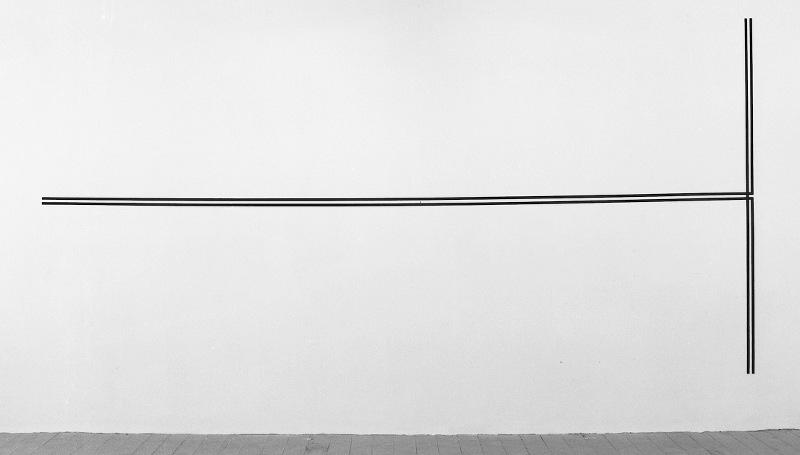 1979,rectangle, nastro di tela dipinta,200x400cm [1720593]