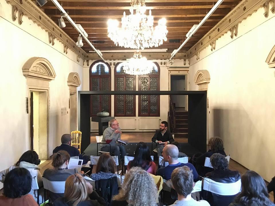 Venezia, Fondazione Bevilacqua La Masa, Palazzetto Tito, con Stefano COletto