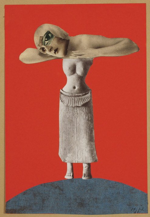 Hannah Hoch, Untitled, 1930 Collage
