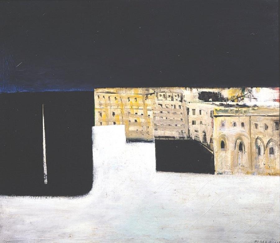 marca-relli-conrad-the-port-1951-oil-on-canvas-1085-x-1245-cm